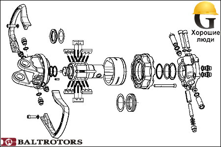 Ротатор для манипулятора своими руками 20